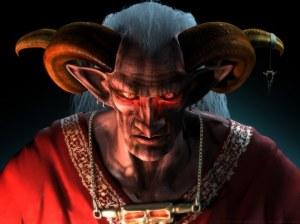 Satan_cornes