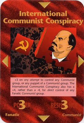 communist conspiracy